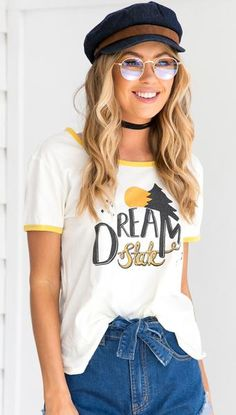 Dream State Tee Top – Mura Boutique