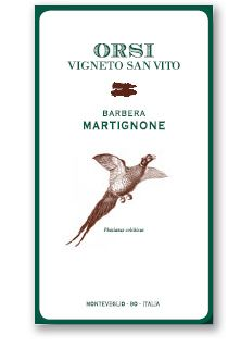 Martignone - Barbera - Orsi Vigneto San Vito #vino #wine #naming #packaging #design