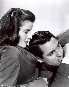 Katherine Hepburn & Cary Grant