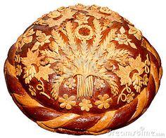 Photo about Isolated Ukrainian festive bakery Holiday Bread absolutely handmade. Image of bakery, closeup, cereal - 5651039 Festive Bread, Holiday Bread, Christmas Bread, Ukrainian Recipes, Ukrainian Food, Serbian Food, Bread Shaping, Bread Art, Ukrainian Easter Eggs
