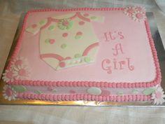 Image detail for -onesie baby shower sheet cake noah s ark sheet cake