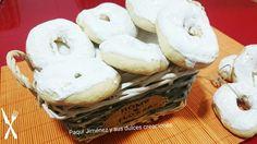 Rosquillas de anís al horno glaseadas | Cocina
