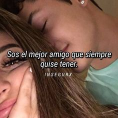 La imagen puede contener: una o varias personas y primer plano Bff Quotes Funny, Besties Quotes, Love Quotes, Bffs, Bullet Journal Banner, Boy Best Friend, Tumblr Love, Future Love, Best Friendship Quotes