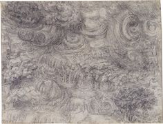 Leonardo became almost obsessed with the ideas of destruction in the last couple years of his life. He drew these scenes of a delu...