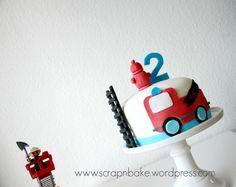 Feuerwehr - Firetruck - Party - Torte - Cake - Fondant