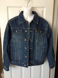 d69e01d1ea Cinch Denim Mens Jacket Medium Classic Cowboy Button Down