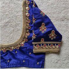 Cutwork Blouse Designs, Pattu Saree Blouse Designs, Simple Blouse Designs, Bridal Blouse Designs, Mirror Work Blouse Design, Maggam Work Designs, Designer, Stone Work, Blouse Desings