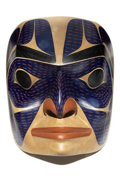 Contemporary Tsimshian Mask