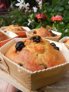Muffins aux myrtilles (surgelées)