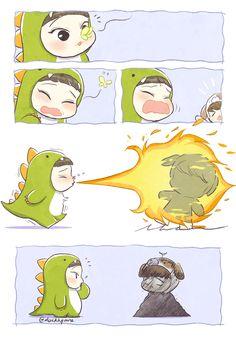 ChenBaek fanart by Hym #duckhymne
