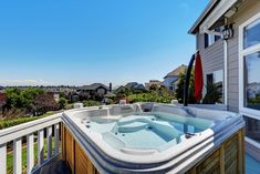If you're looking for high-quality pool and hot tub products for your property in the Aspen area, turn to our team at Ajax Pool & Spa Aspen today. Jacuzzi Hot Tub, Luxury Homes Exterior, Bbq Accessories, Pool Installation, Outdoor Privacy, Pool Maintenance, Deck Railings, Evergreen Shrubs, Shower Systems