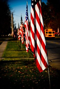 Fremont Nebraska Avenue of Flags