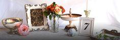 Vintage Wedding Decorations   Vintage Glam Weddings   Afloral