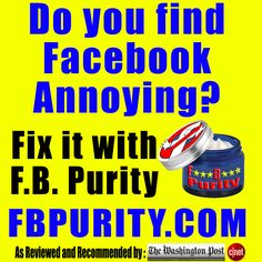 FB Purity cleans up and customises Facebook