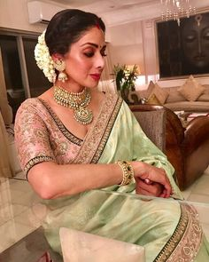 These Sabyasachi Saree are stunning in the designer saree spectrum! Find more Sabyasachi saree, Sabyasachi Lehenga and Sabyasachi Dress on Happy Shappy Sari Blouse, Saree Dress, Saree Blouse Designs, Blouse Patterns, Sabyasachi Dresses, Stylish Sarees, Trendy Sarees, Saree Look, Banarasi Sarees