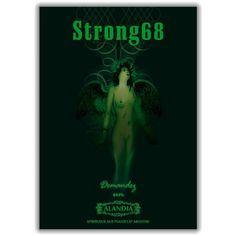 strong68 absinthe | Absinthe Poster Strong68 || ALANDIA Absinthe store est. 2001