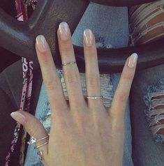 39 Stunning and Gorgeous Acrylic Nails Design You Should Try.- 39 Stunning And Gorgeous Acrylic Nails Design You Should Try In Fall And Winter – Nail Idea 07 💕💅💕 𝐒𝐭𝐮𝐧𝐧𝐢𝐧𝐠 𝐀𝐜𝐫𝐲𝐥𝐢𝐜 𝐍𝐚𝐢𝐥𝐬 💕 💕 💕 💕 💕 - Nude Nails, Coffin Nails, Teal Nails, Acrylic Nail Designs, Nail Art Designs, Nails Design, Oval Acrylic Nails, Hair And Nails, My Nails