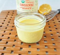 The best honey mustard you will ever make. It gets even better.this is healthy too! Never buy store bought dressing again! Healthy Honey Mustard cup plain Greek yogurt (vegans can try coconut yogurt) 2 T yellow mustard 1 T raw honey 1 T lemon juice Whole Food Recipes, Cooking Recipes, Healthy Recipes, Healthy Food, Healthy Options, Cooking Tips, Salad Dressing Recipes, Salad Recipes, Salad Dressings