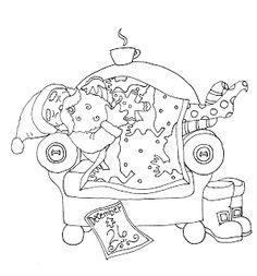 1000 Images About Coloring Pages Christmas On Pinterest