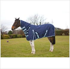 Protack Turnout Rug Combo Navy Waterproof and breathable 1200 denier ripstop fabric With filling polyester lining front gusset cross surcingles. Horse Rugs, Walk The Earth, Country Outfits, Equestrian, United Kingdom, Pony, Horses, Tack, Animals