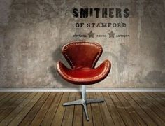 Spitfire Leather Aviation office chairs by Smithers of Stamford Distressed Leather, Brown Leather, Gentlemans Lounge, Swivel Office Chair, Celebrity Houses, Egg Chair, Best Interior, Vintage Furniture, Home Accessories