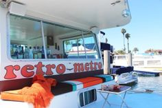 """Tracy & Marty's """"Retro Metro"""" House Boat House Tour 