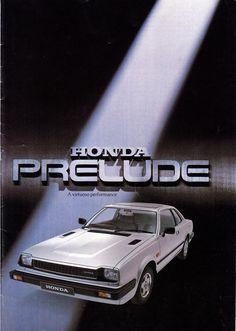 Honda Prelude Mk1 UK Brochure 1979