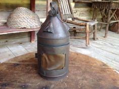 18th century horn lantern