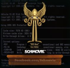 "AND THE SCHQUID FOR A SCI-FI ABOUT A FEARLESS IT GUY GOES TO... ""DOS Boot"" (Gary Hallock) with 7 votes. Congratulations, Gary! You're no hack.#parody #movie #dos #windows #microsoft"