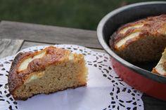 Recette gâteau au yaourt pomme caramel beurre salé   Wonderful Breizh Variante avec du caramel d'Isigny ;-) Miam !