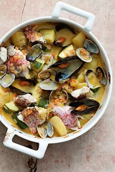 Kakavia fish soup recipe from The Islands of Greece by Rebecca Seal | Cooked
