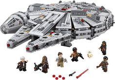 Les Lego ne sont pas l'apanage des enfants ! Et ce surtout lorsqu'il s'agit de Lego Star Wars. Le coffret Millennium Falcon (75105) permet par exemple de reconstituer le célèbre vaisseau intergalactique ! À partir de 125,91 €