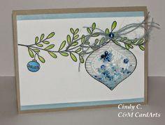 C&M CardArts: Shaker Ornament