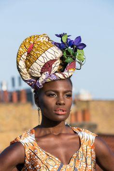 Noisettes Front Woman Shingai Shoniwa is the Latest Africa Fashion Week London 2013 Ambassador African Fabric, African Dress, African Style, African Prints, African Crown, African Textiles, African Hair, Turbans, Headscarves