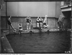toronto ladies swim club 1925