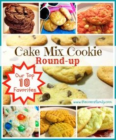 Cake Mix Cookie Roundup: 10 Fast and Easy cake mix cookie recipes
