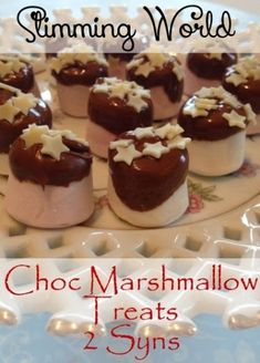 Slimming World Chocolate Marshmallow treats astuce recette minceur girl world world recipes world snacks Slimming World Taster Ideas, Slimming World Deserts, Slimming World Puddings, Slimming World Syns, Slimming World Recipes, Slimming Workd, Xmas Food, Christmas Desserts, Christmas Buffet