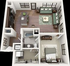 3d floor plan - Google Search: