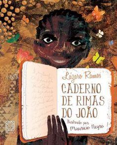 """Lázaro Ramos acaba de lançar o livro infantil """"Caderno de Rimas do João""""."""