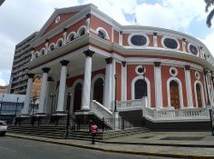 Teatro Municipal de Caracas.