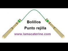 Bolillos: como hacer el punto rejilla