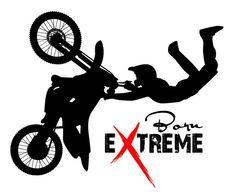 TEEN Motocross Born Extreme Large Vinyl Wall Decal  by KidsCorner, $29.50