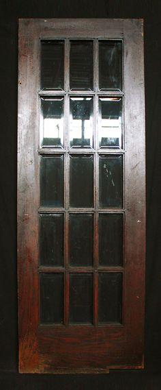 36x83 antique arts crafts entry chestnut by pennantiquerestore 30x83 antique arts crafts french oak wood wooden swinging door beveled glass planetlyrics Gallery
