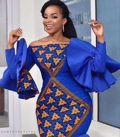 e -Fashion World is a channel created to promote Africa fashion and culture. Our aim is to see Africa fashion and designs take an enviable and impressionable. Ankara Dress Styles, Latest African Fashion Dresses, African Dresses For Women, African Print Dresses, African Print Fashion, Africa Fashion, African Attire, Ankara Fashion, African Party Dresses