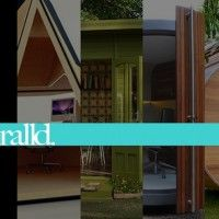 Outdoor Design: 12 Awesome Office Pods For Your Backyard.I would love to have an outdoor office! Outdoor Office, Outdoor Decor, Office Pods, Container Buildings, Cool Office, Mid Century Modern Furniture, Istanbul, Mid-century Modern, Architecture Design