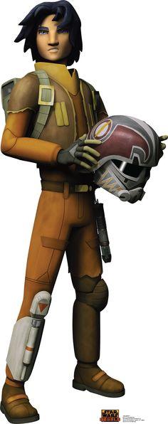 Star Wars Rebels Ezra Bridger Cardboard Standup