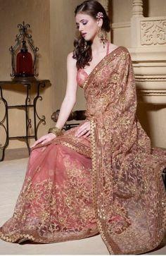 Indian Saree Dresses 2014 | Alzefaf.com