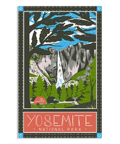 This Yosemite Dish Towel by Vestiges is perfect! #zulilyfinds