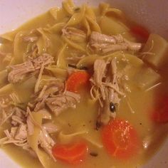 Plenty of ginger and kohlrabi are spicy additions to a classic soup. Gourmet Recipes, Soup Recipes, Cooking Recipes, Healthy Recipes, Diet Recipes, Ginger Chicken, Rice Soup, Anti Inflammatory Recipes, Chicken