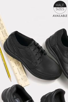 Black Lace-Up Shoes (Older Boys) from Next